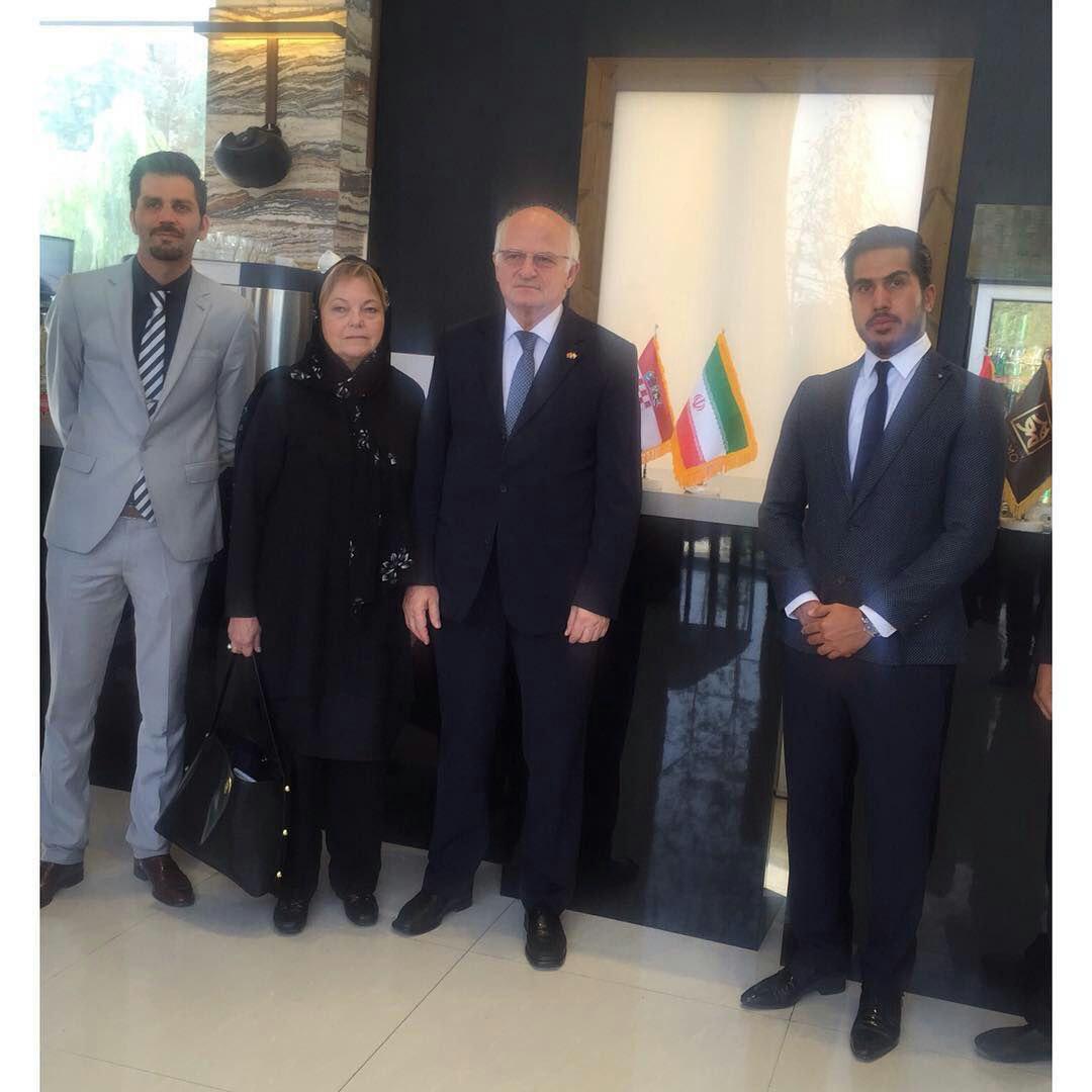 افتخار  پذیرایی از ریاست محترم مجلس کرواسی و هیئت همراه در هرمو